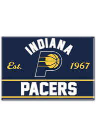 Indiana Pacers 2.5x3.5 Metal Magnet