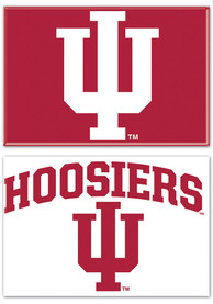 Indiana Hoosiers 2 Pack Rectangle Magnet