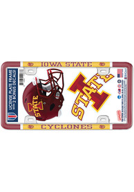 Iowa State Cyclones 2-Pack Decal Combo License Frame