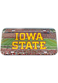 Iowa State Cyclones Stadium Crystal Car Accessory License Plate