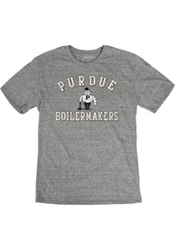 Purdue Boilermakers Number One Fashion T Shirt - Grey
