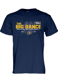 Drexel Dragons March Madness Bound T Shirt - Navy Blue