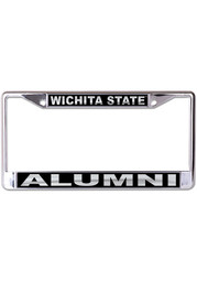 Wichita State Shockers Black and Silver License Frame