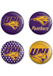 Northern Iowa Panthers 4 Pack Button