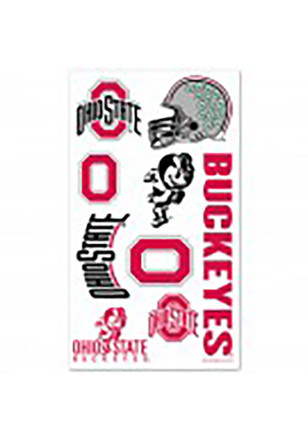 Ohio State Buckeyes Sheet Tattoo