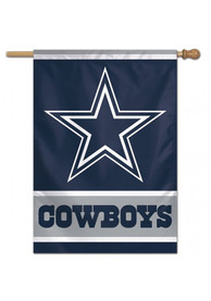 Dallas Cowboys 28x40 Helmet Silk Screen Banner