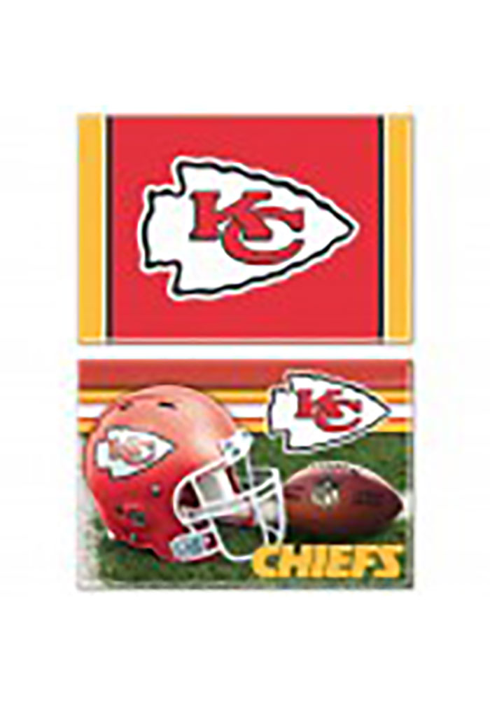 Kansas City Chiefs 2 Pack Magnet - Image 1