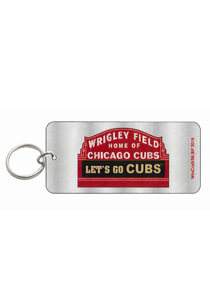 Chicago Cubs Wrigley Field Keychain - Image 1