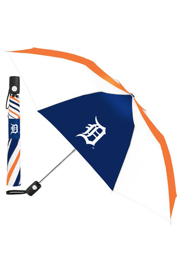 Detroit Tigers Auto Fold Umbrella - Image 1