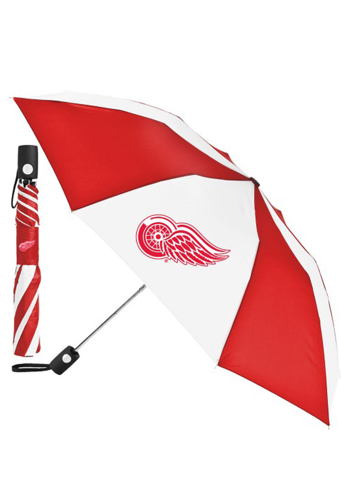 Detroit Red Wings Auto Fold Umbrella - Image 1
