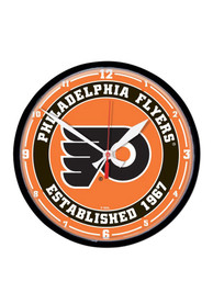 Philadelphia Flyers Round Wall Clock