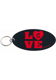 Cleveland Indians Oval Love Keychain