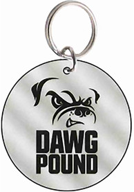 Cleveland Browns Frost Circle Keychain