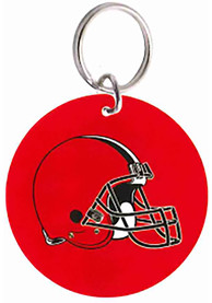 Cleveland Browns Glossy Circle Keychain