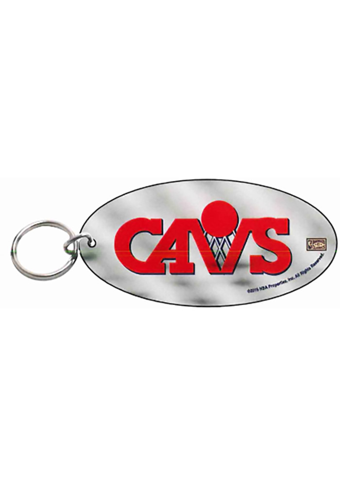 Cleveland Cavaliers Frost Oval Keychain - Image 1