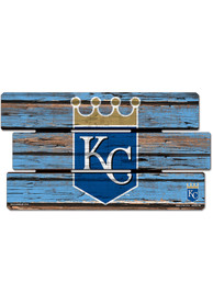 Kansas City Royals 14x25 Painted Fence Wood Sign