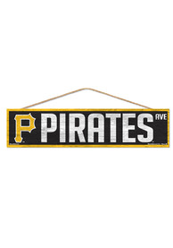 Pittsburgh Pirates 4x17 Avenue Wood Sign