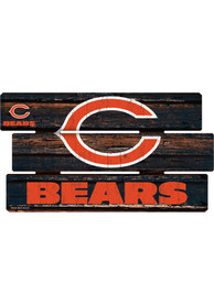 Chicago Bears 14x25 Painted Fence Wood Sign