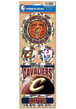 Cleveland Cavaliers Prismatic Stickers