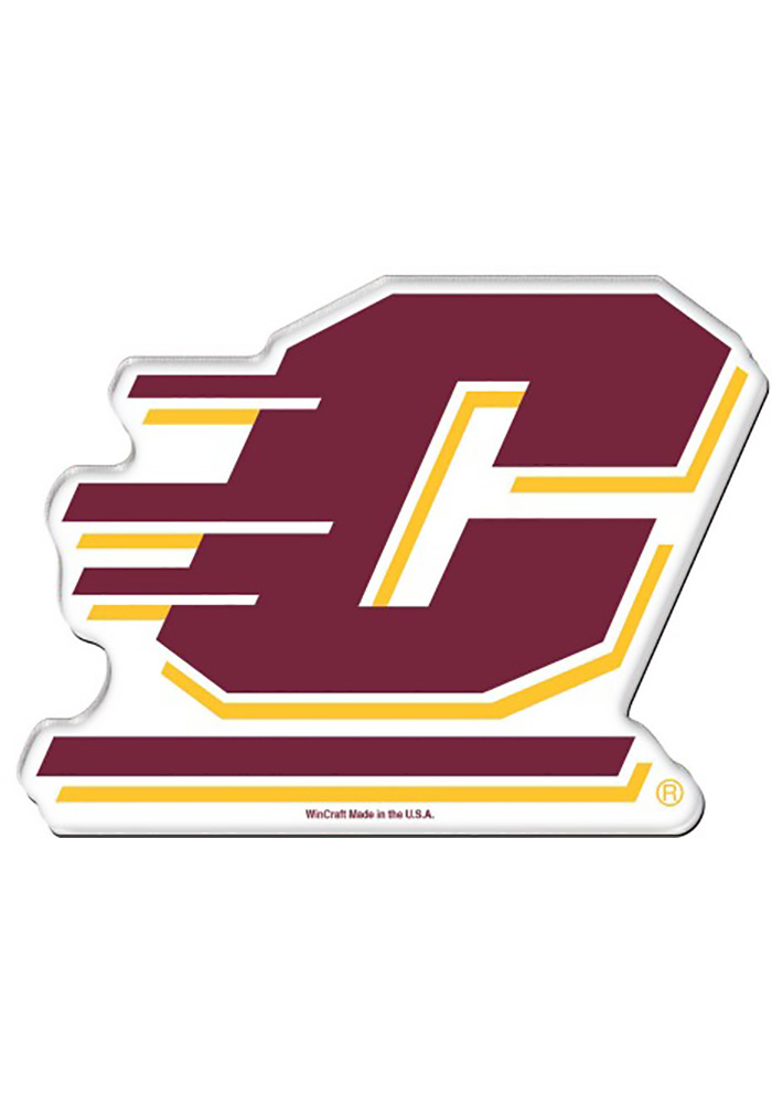 Central Michigan Chippewas Acrylic Magnet