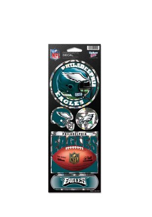 Philadelphia Eagles Prismatic Stickers