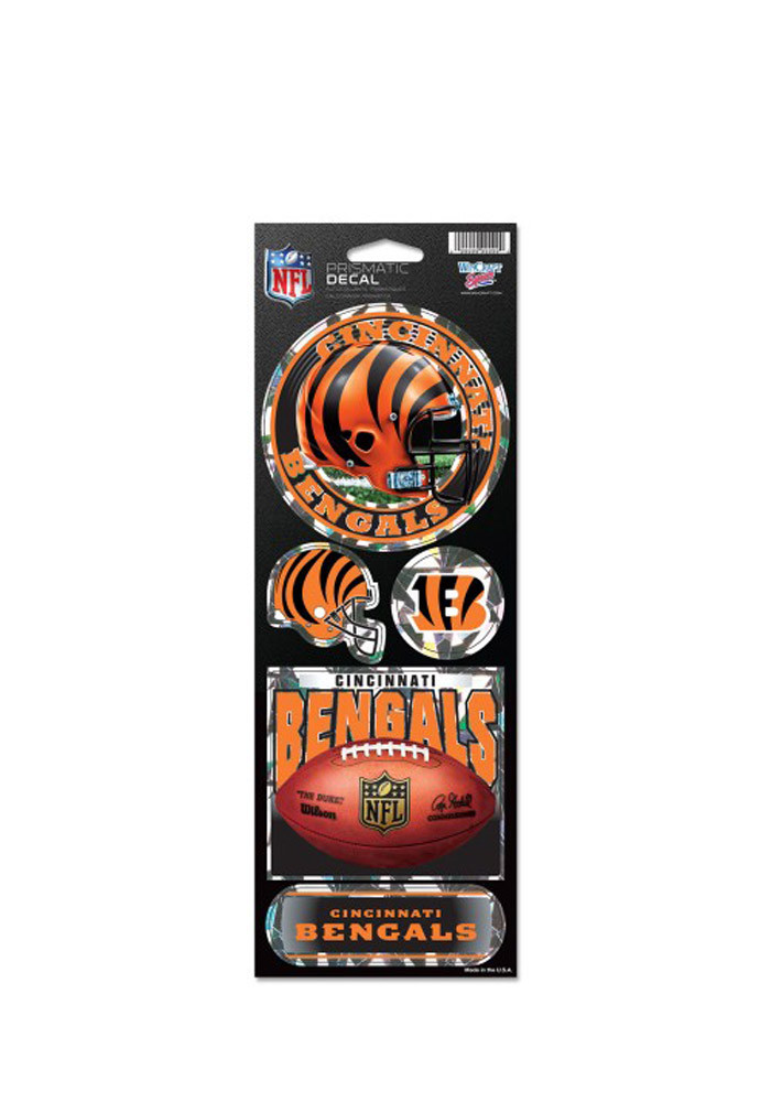 Cincinnati Bengals Prismatic Stickers - Image 1