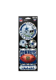 Dallas Cowboys Prismatic Stickers
