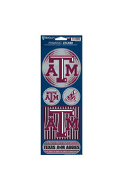 Texas A&M Aggies Prismatic Stickers