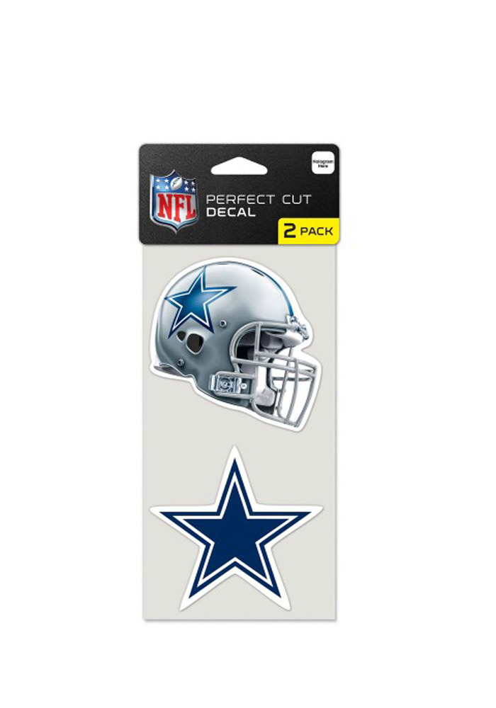 Dallas Cowboys 4x4 2 pack Decal - Image 1