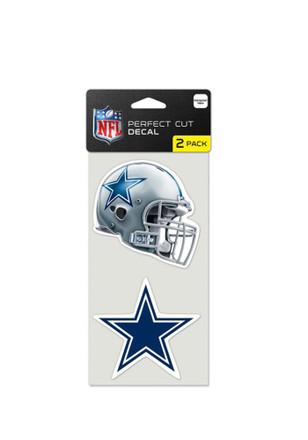 Dallas Cowboys 4x4 2 pack Decal