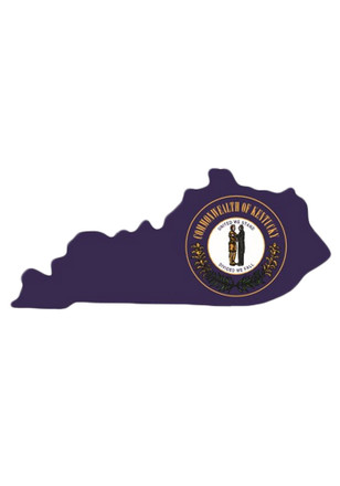 State of Kentucky 4x4 State Seal Auto Decal