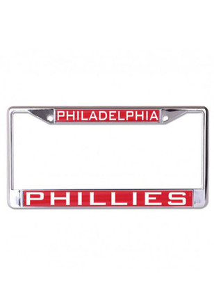 Philadelphia Phillies Team Name Inlaid License Frame