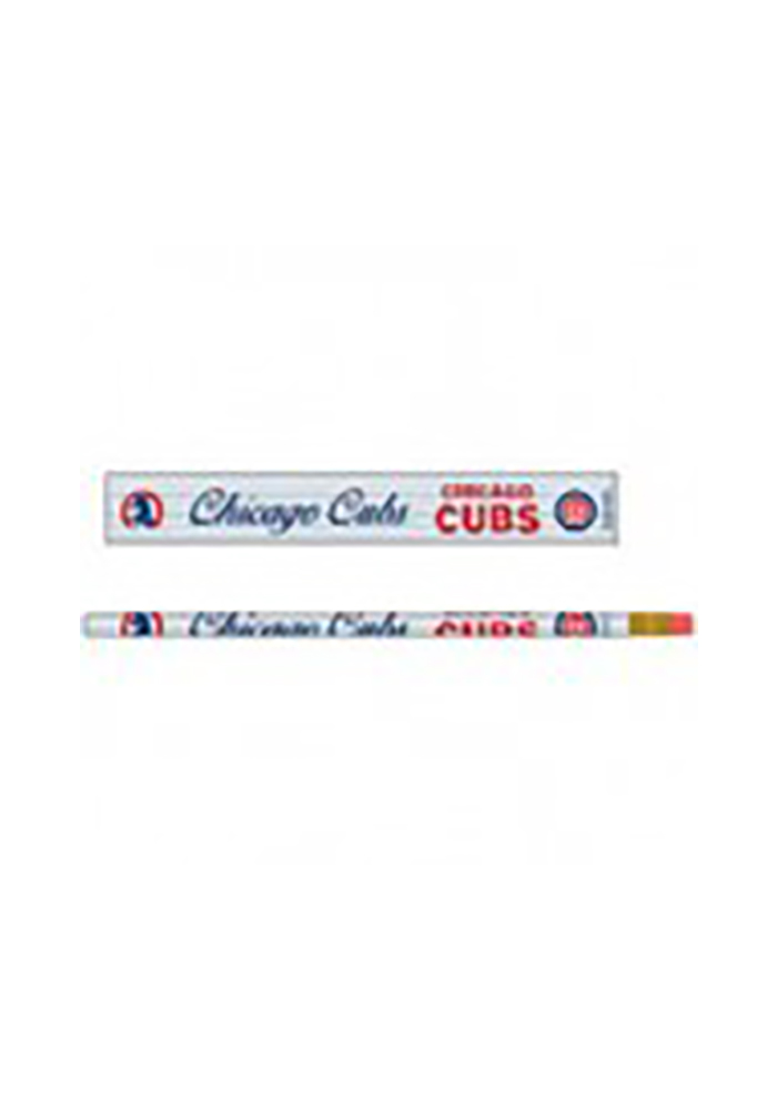 Chicago Cubs 6 Pack Pencil - Image 1