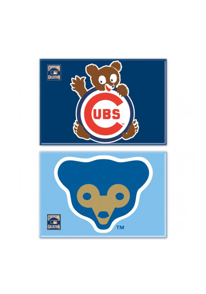 Chicago Cubs Cooperstown Magnet - Image 1