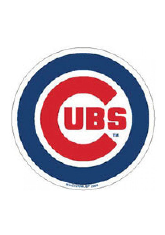 Chicago Cubs Primary Logo Magnet - Image 1