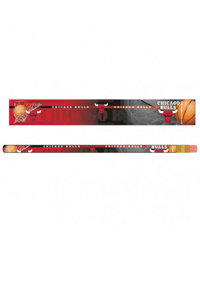 Chicago Bulls 6 Pack Pencil - Image 1