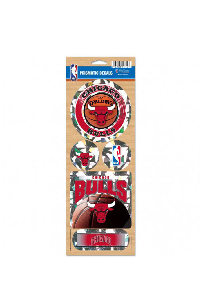 Chicago Bulls Prismatic Stickers - Image 1