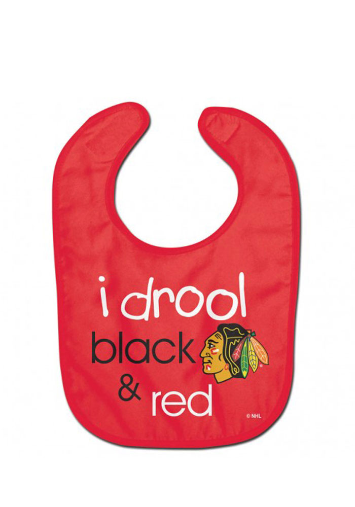 Chicago Blackhawks I Drool Baby Bib - Image 1