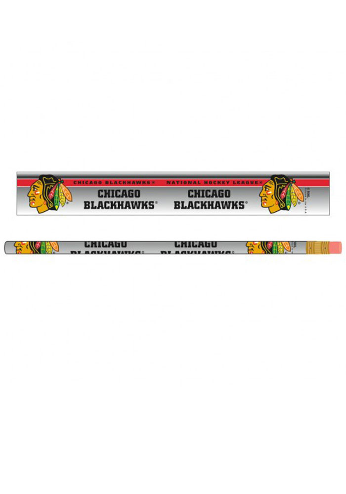 Chicago Blackhawks 6 Pack Pencil - Image 1
