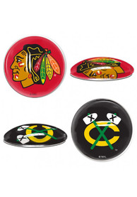 Chicago Blackhawks Sport Dots Magnet