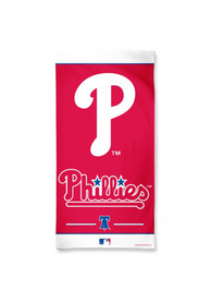 Philadelphia Phillies Team Logo Beach Towel