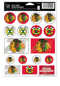 Chicago Blackhawks Team Logos Stickers