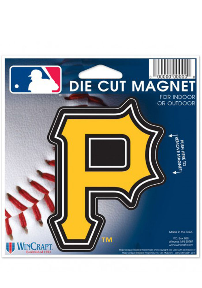 Pittsburgh Pirates Team Logo Magnet - Image 1