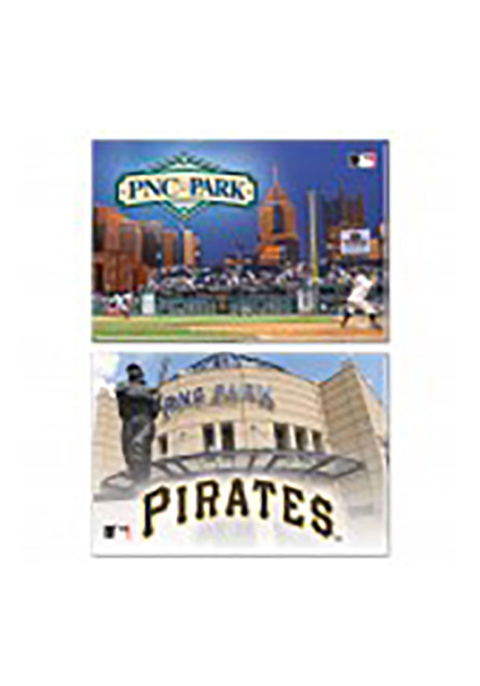 Pittsburgh Pirates 2 Pack Magnet - Image 1