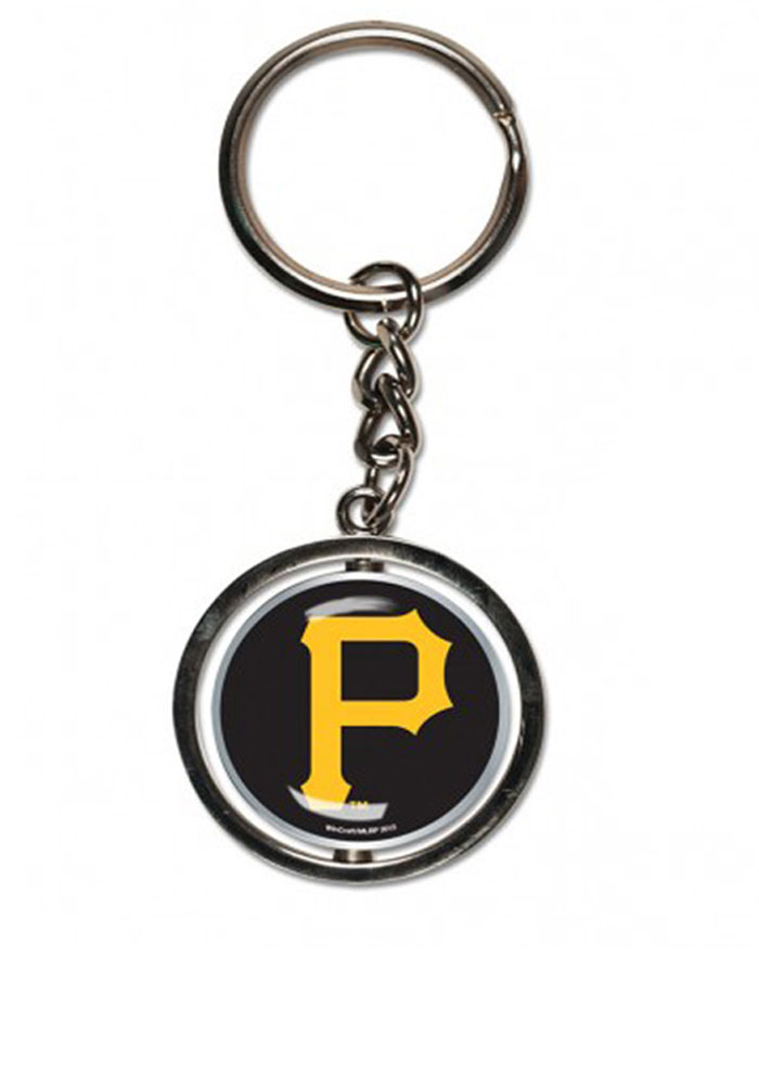Pittsburgh Pirates Spinning Logo Keychain - Image 1