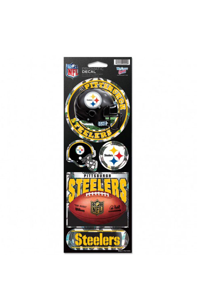 Pittsburgh Steelers Prismatic Stickers - Image 1