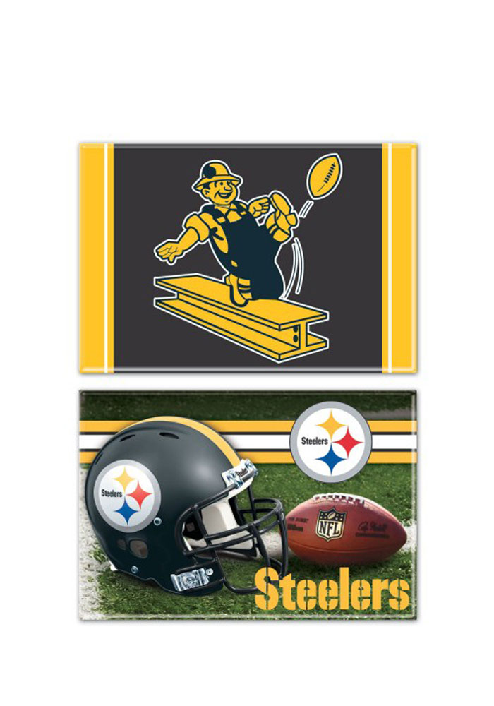 Pittsburgh Steelers 2 Pack Magnet - Image 1