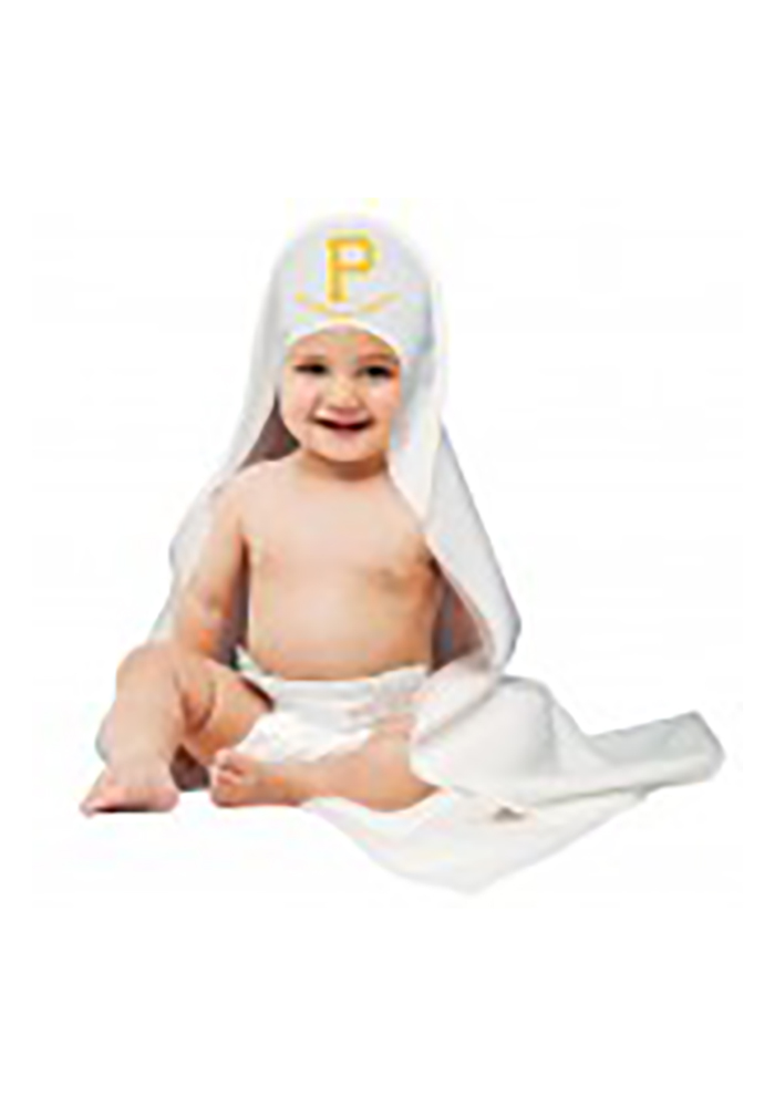 Pittsburgh Pirates Hooded Towel Baby Bath Accessory - Image 1