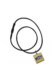 Pitt Panthers Womens LifeTile Necklace - Navy Blue