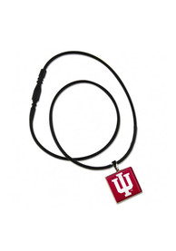 Indiana Hoosiers Womens LifeTile Necklace - Red